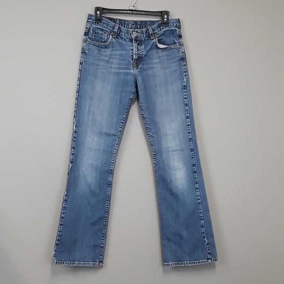 Lucky Brand Denim - Lucky Brand Easy Rider Bootcut Womens Blue Jeans
